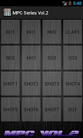Screenshot of MPC Vol.2 Music Maker