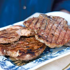 Grilled 5-Spice Pork Chops