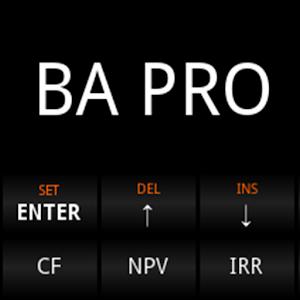 Cover art BA Pro Financial Calculator