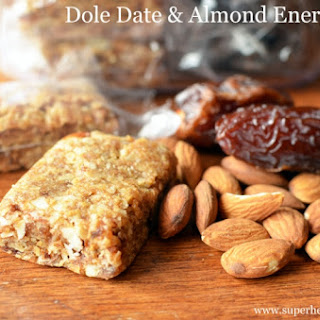 Dole Date Almond Energy Bars- Sports Nutrition