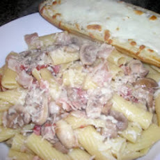 Holy Smoked Bacon and Mushroom Penne