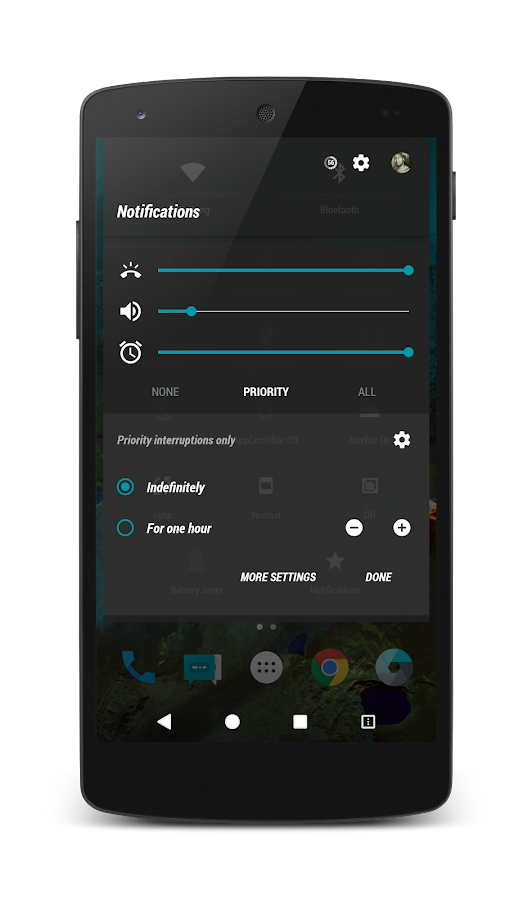 PitchBlack│G-Cyan CM13/12 Screenshot 3