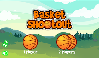 Screenshot of 2 Players Basket Shootout