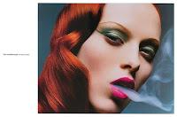 Photography Sølve Sundsbø, Stylist Jonathan Kaye, Makeup Kay Montano