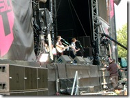 Amy McDonald on the 4music stage