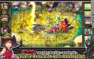 Screenshot of Fantasy Heroes