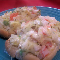 Crabmeat and Artichoke Hearts Sandwich
