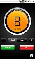 Screenshot of CTSmall heat pump controller.