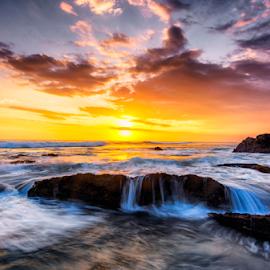 Let it flow by Shenz Senichi Kunisada - Landscapes Sunsets & Sunrises