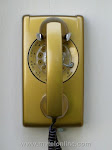 Wall Phones - Western Electric 554 Gold
