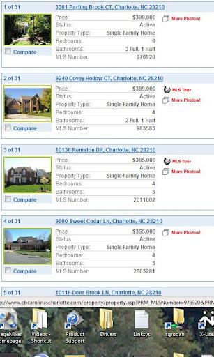 Charlotte Real Estate Finder
