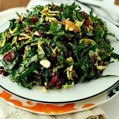 Kale Chopped Salad with Maple-Almond Vinaigrette