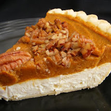 Pumpkin Cream Cheese Layer Pie