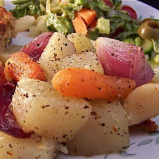 Oven Roasted Herbed Vegetables