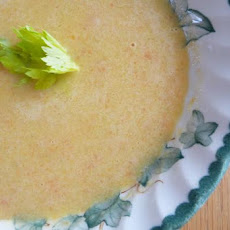 Warming Celery & Carrot Soup