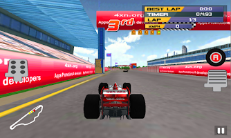 Screenshot of Formula Speed Racer