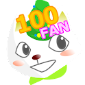 100 boxes training FAN icon