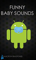 Screenshot of Funny Baby Sounds Ringtones