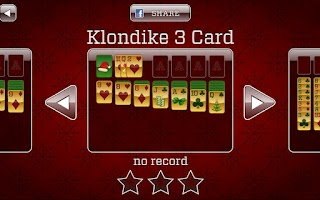 Screenshot of Christmas Solitaire