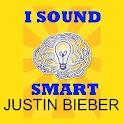 I Sound Smart: Justin Bieber icon