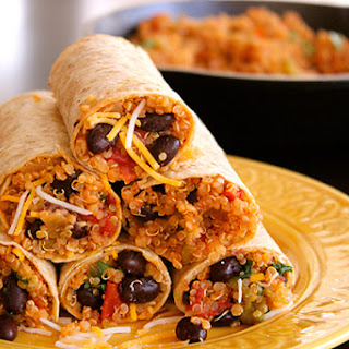 Vegetarian Lunch Wraps Recipes