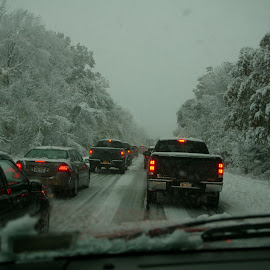 what a mess by Alec Halstead - News & Events Weather & Storms ( , snow, winter, cold )