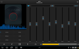 Screenshot of Equalizer Music Player Pro