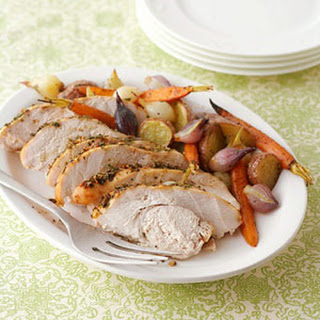 Herb-Roasted Turkey and Vegetables