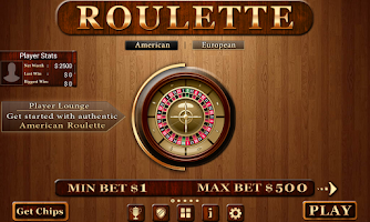 Screenshot of Roulette - Casino Style!