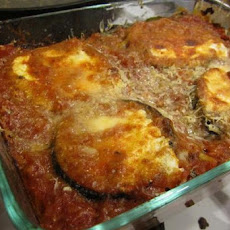 Low Fat Eggplant (Aubergine) Lasagna
