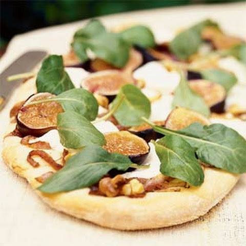 Fig & Goat Cheese Flatbread Recept | Yummly