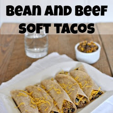 Corn, Black Bean and Beef Soft Tacos