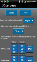 Screenshot of Auto Profiles