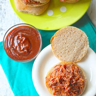 Homemade Barbecue Sauce (Gluten Free Soy Free) & Pulled Pork Sliders
