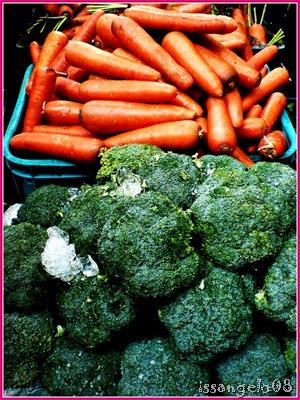 carrots and brocolli