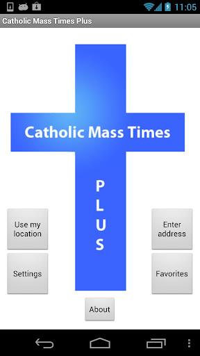 Catholic Mass Times Plus