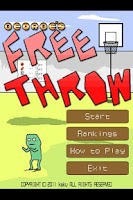 Screenshot of George's Free Throw