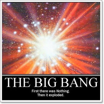 'El Big Bang: en el principio era la nada, luego explotó'