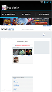 Lyrics Downloader Free - screenshot
