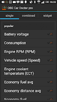 Screenshot of OBD Car Doctor Pro