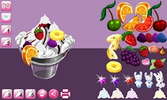 Screenshot of Sundae Delight Lite