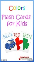 Screenshot of Colors Baby Flash Cards