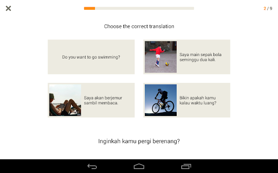Learn Indonesian With Babbel APK screenshot thumbnail 14
