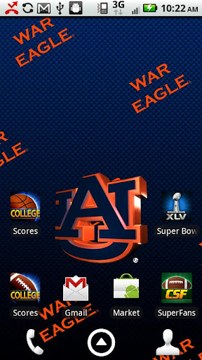 Auburn Tigers Live Wallpaper