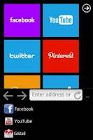 Screenshot of Best Browser (WP7 Style)