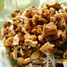 Chinese Chicken Lettuce Wraps or