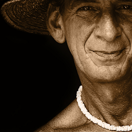 gregg by David Ubach - People Portraits of Men ( male, rugged, portrait, man, hat )