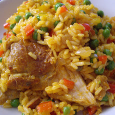 Arroz Con Pollo - Rice With Chicken