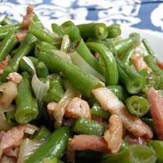 Green Bean and Bacon Saute