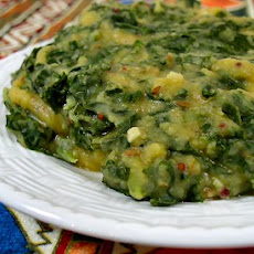 Kale and Toor Dal